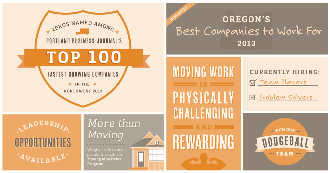 2 Brothers Moving & Delivery Top 100 Companies to Work for in Oregon